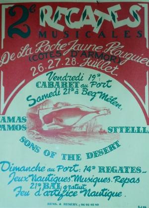 1996 Affiche Régates