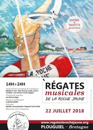 2018 Affiche Régates