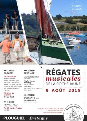 2015 Affiche Regates