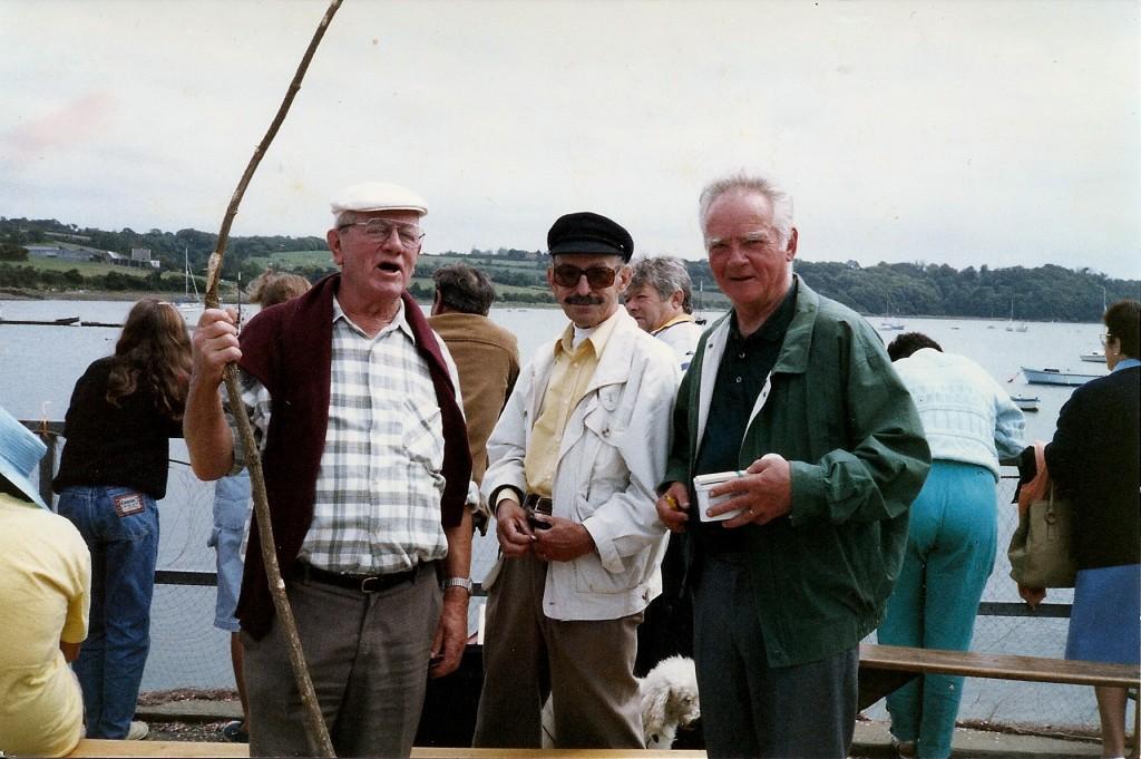 Santec, Jean et Lucien en 1991